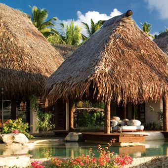 Brides: Fiji's Top Romantic Resorts, Laucala Island! Glam and over the top.