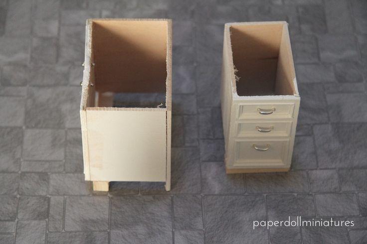 Oltre 25 idee originali per mobili dollhouse su pinterest - Bagno in miniatura ...