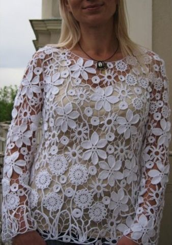 Lace top …