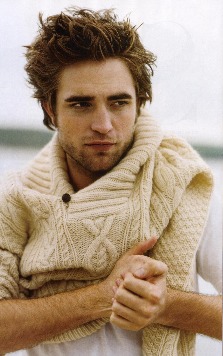 Pattinson, in his early vampire years.... lol sorry. I