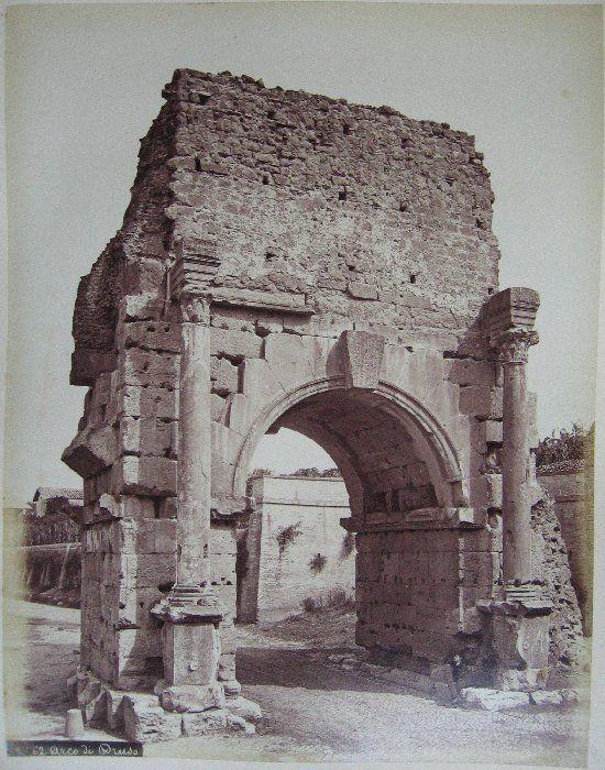Arco di Druso ante 1875