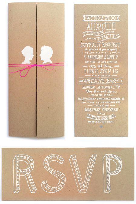 Wedding Invitation / Hi + Low