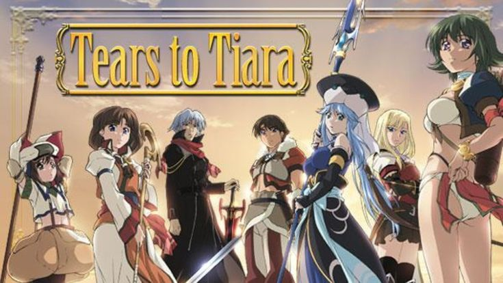 Image result for tears to tiara anime