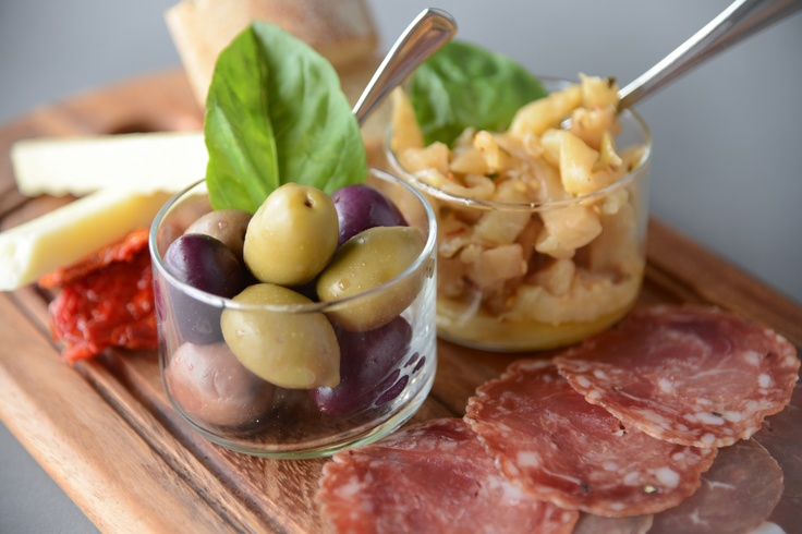 Our Antipasto, the perfect appetizer!