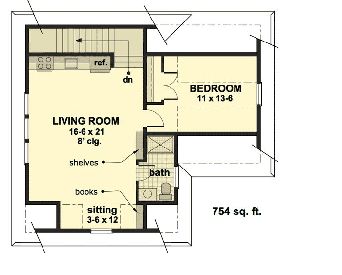 Small carriage house floor plans thefloors co for Carriage plans