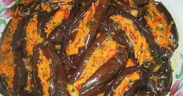 """Лучшие кулинарные рецепты : """"Манзаны"""" фаршированные баклажаны по-гречески"""
