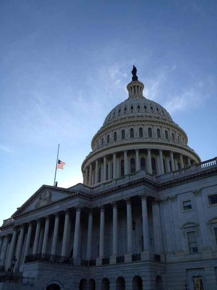 President Obama, House Speaker Boehner and Connecticut Gov. Malloy have all ordered flags to be flown at half-mast to honor victims of today's school shooting in Newtown, Connecticut. (photo via http://twitter.com/uscapitol)