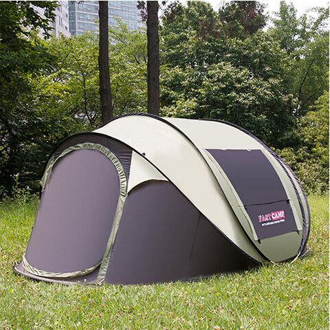 Super Automatic Pop Up 5 Person 1 Room Waterproof Tent