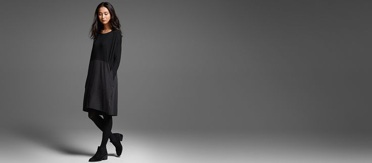 EILEEN FISHER: Dresses. Ready for the Occasion.