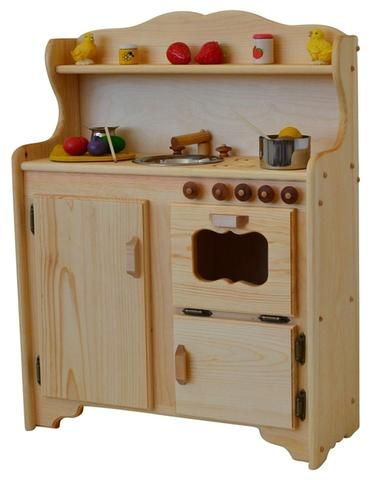 solid wood toy kitchen propane stoves jude s deluxe elves angels
