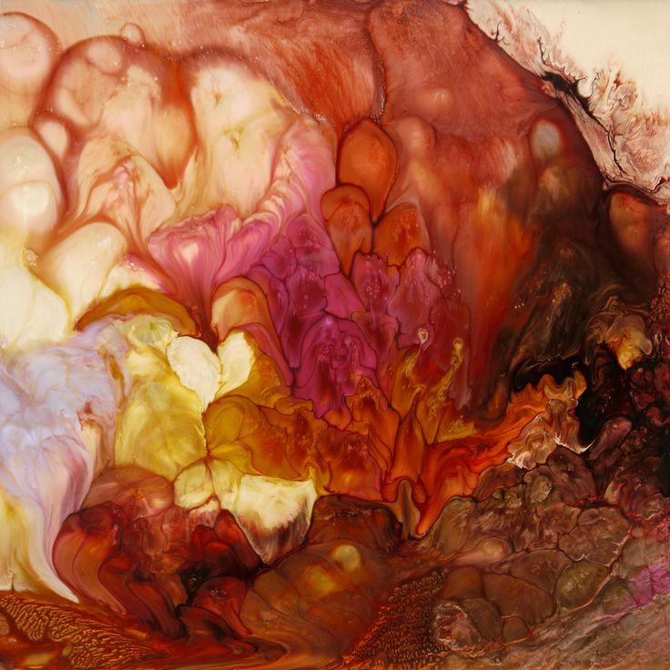"Saatchi Online Artist: Lia Melia; Paint 2013 Painting ""Seeds Of Change"""