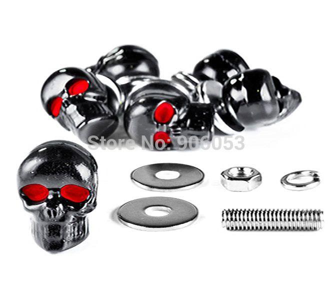 Skeleton Skull Bolts For Kawasaki Eliminator BN 125 250 600 900