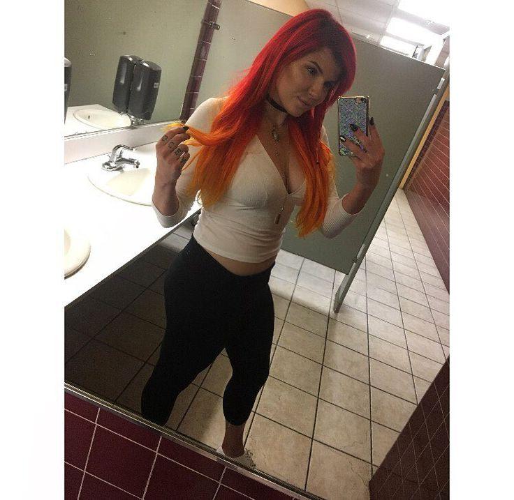 Ya girl brought the red hair back������ #red #hair #ombre #fire #phoenix #bright #pravanavivids #neon #hair #hairstylist #cosmetology #MUA #MUD #makeup #So_Gabulous http://tipsrazzi.com/ipost/1511215779407572560/?code=BT46r6eja5Q