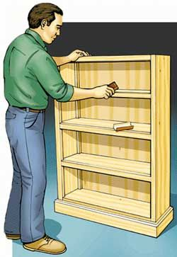 How To Build A Bookcase  - PopularMechanics.com