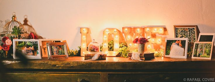 love + shabby chic + pink and gold
