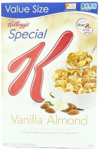 Kellogg's Special K Cereal, Vanilla Almond, 16.3 Ounce - http://sleepychef.com/kelloggs-special-k-cereal-vanilla-almond-16-3-ounce/