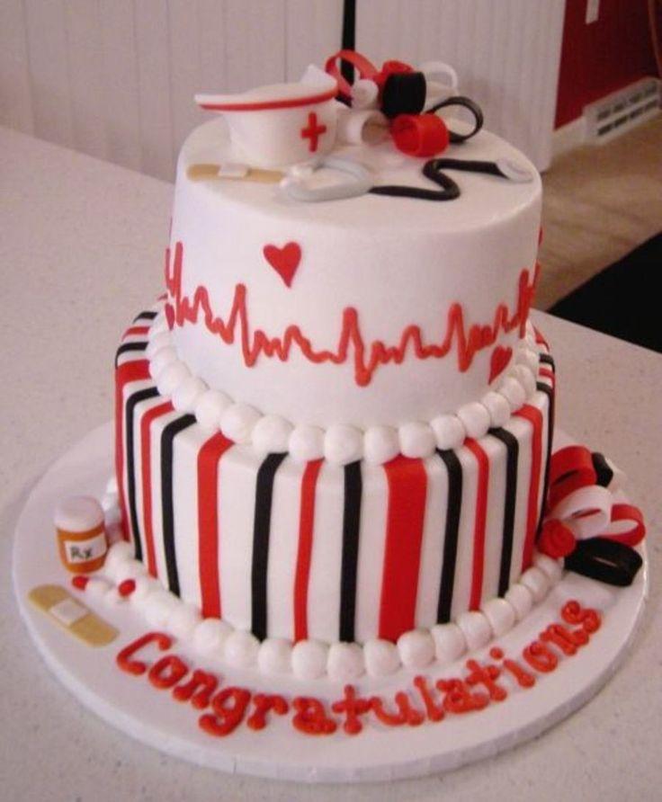 Nursing Graduation  on Cake Central