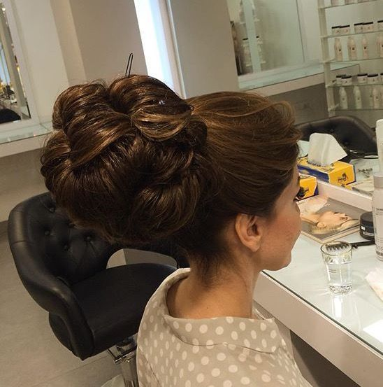 35 best chignon hair images on Pinterest | Chignons, Hair dos and Long hair