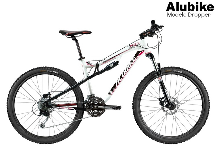 Bicicleta Alubike  modelo Dropper   #Bikes #bicicletas #Alubike www.alubike.com.mx