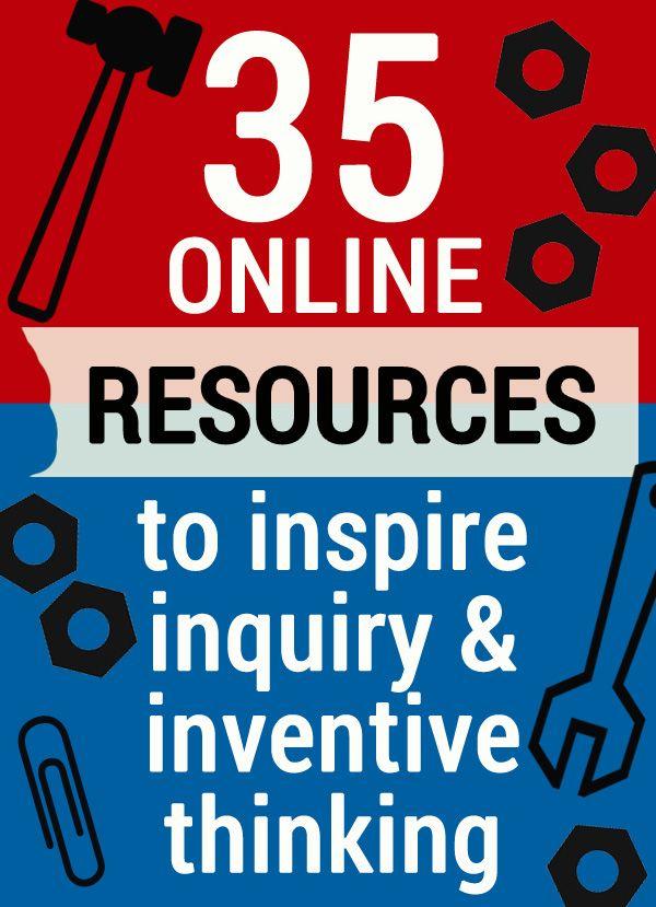 35 Recursos para fomentar la investigación y el pensamiento inventivo