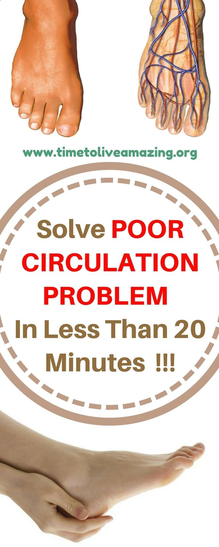 Do you suffer from poor circulation heres how to solve