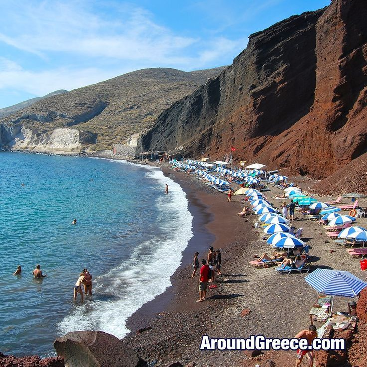 The famous Red Beach in Santorini Island - Greece  #Santorini #Greece #RedBeach #Σαντορινη #Ελλαδα #GreekIslands #Cyclades #Holidays #Travel #Vacations #VisitGreece #AroundGreece #beach #Σαντορίνη #Ελλάδα #Κυκλαδες #Κυκλάδες #Διακοπες #Ταξιδι #ΚόκκινηΠαραλία #ΚοκκινηΠαραλία