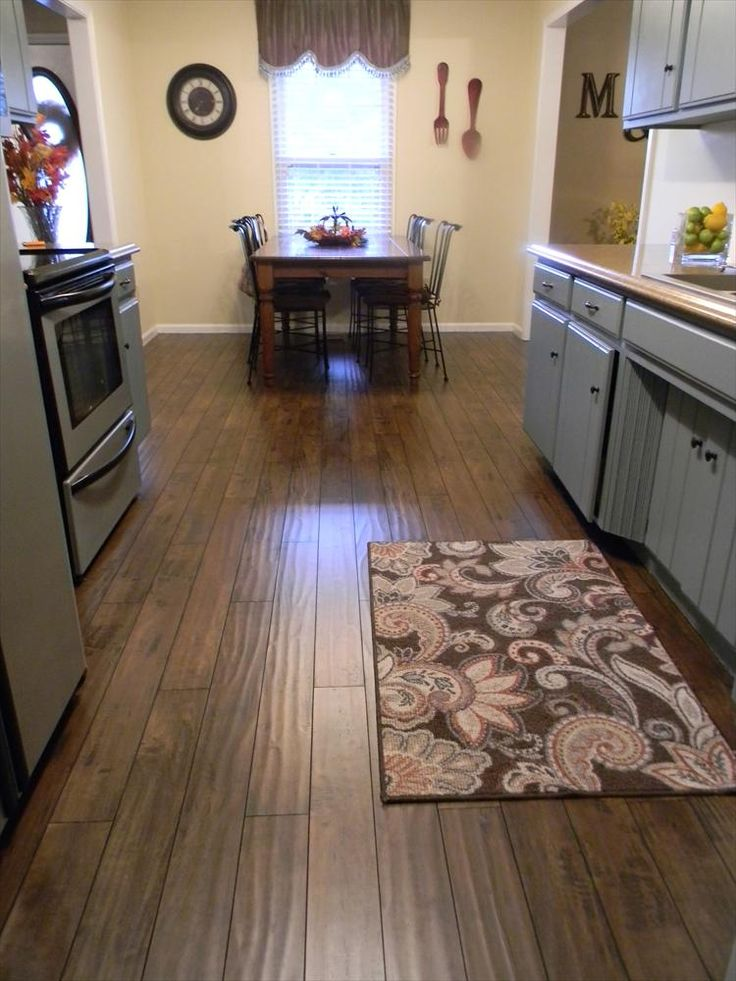 BuildDirect®: Laminate Flooring 12mm Handscraped Muskoka Collection   Bracebridge Brown