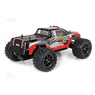 Truck WLToys L212 1:12 Brushless Electric RC Car 60KM/H 2.4G Red / Blue Ready-To-GoRemote Control Car / Remote Controller/Transmitter / #offroad #hobbies #design #racing #drift #motors #trucks #tech #rc #rccars