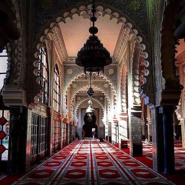 Mosque Hassan 5, in Tangier, Morocco.                                                                                                                                                                                 More