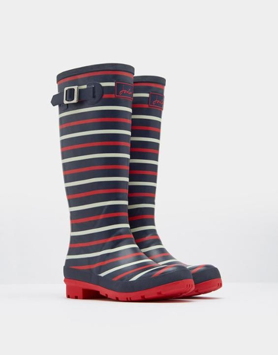 Joules Printed Womens Rain Boots