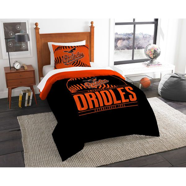 Baltimore Orioles The Northwest Company Grand Slam Twin Comforter Set