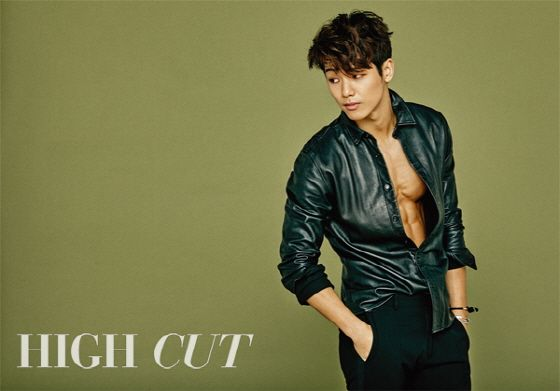 Kang Min Hyuk | High Cut January Issue '16