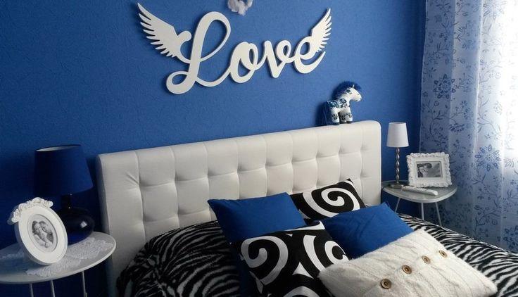 объемные буквы украшение интерьера спальни