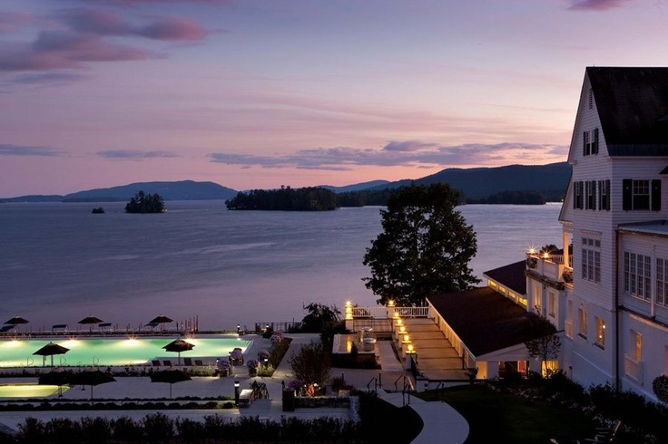 The Sagmore Resort on Lake George.  Bolton Landing, New York.