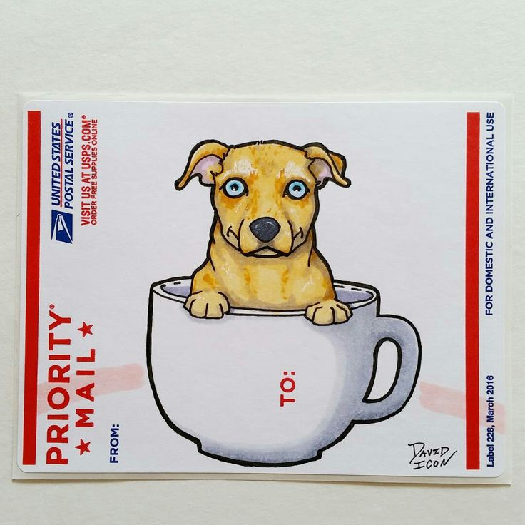 Pup in a cup sticker cutecoolawesome cartoonart adhesiveart dog puppy