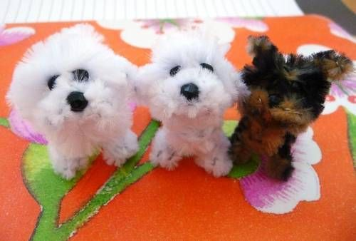 Pipe Cleaner Dogs! - TOYS, DOLLS AND PLAYTHINGS