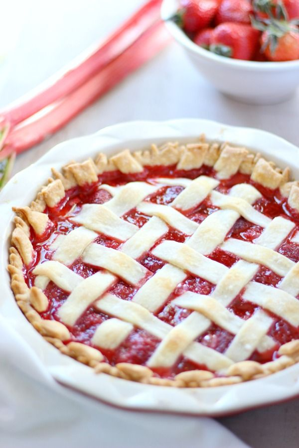 Test Kitchen Strawberry Rhubarb Pie