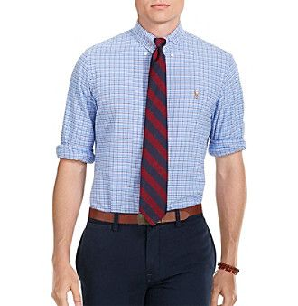 Polo Ralph Lauren® Men's Checked Oxford Shirt