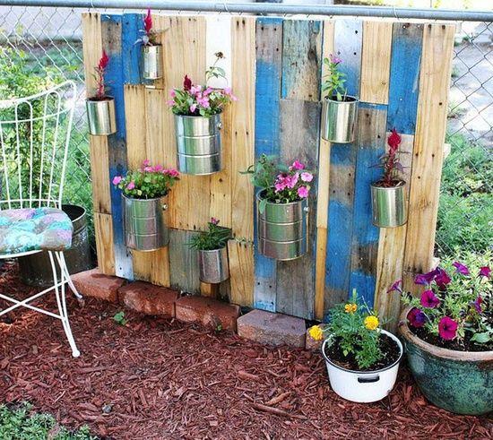 Beautiful Vertical Garden Ideas: Garden Junk Ideas
