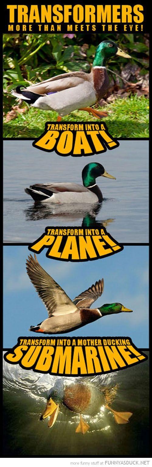 Transformer Duck