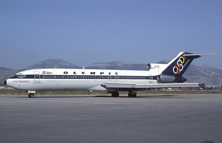 Olympic Airways B 727-284 (Mount Taygetus) [SX-CBF]