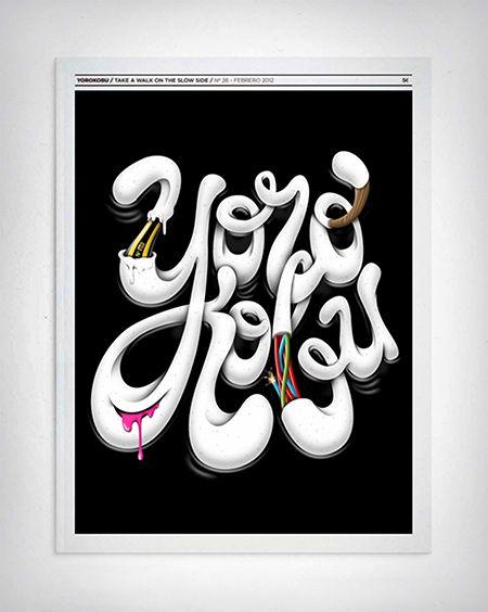 Los proyectos tipográficos de Javier Bueno