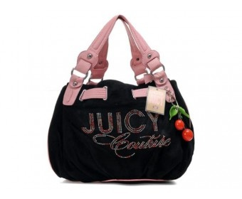 cheap - Cheap Juicy Couture Logo Print Tote Free Style Bags - Pink/Black - Wholesale Discount Price    Discount Juicy Couture handbags Sale, Cheap Juicy Couture Handbags New Arrivals, Original Juicy Couture Purses outlet, Wholesale Juicy Couture bags store
