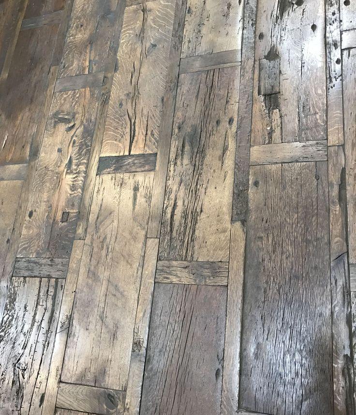 Podłogi wykonane z ponad stuletniego drewna pozostają jeszcze koncepcją.