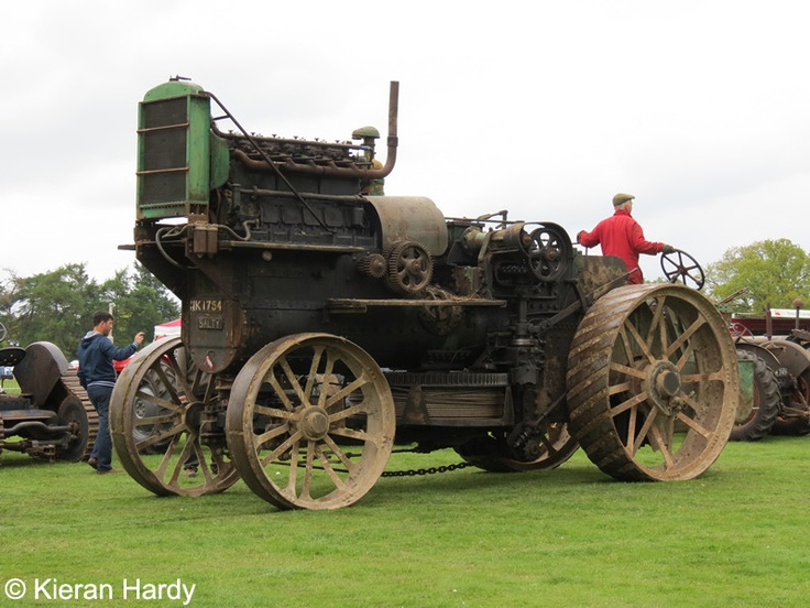 Converted diesel traction engine 'Salty'