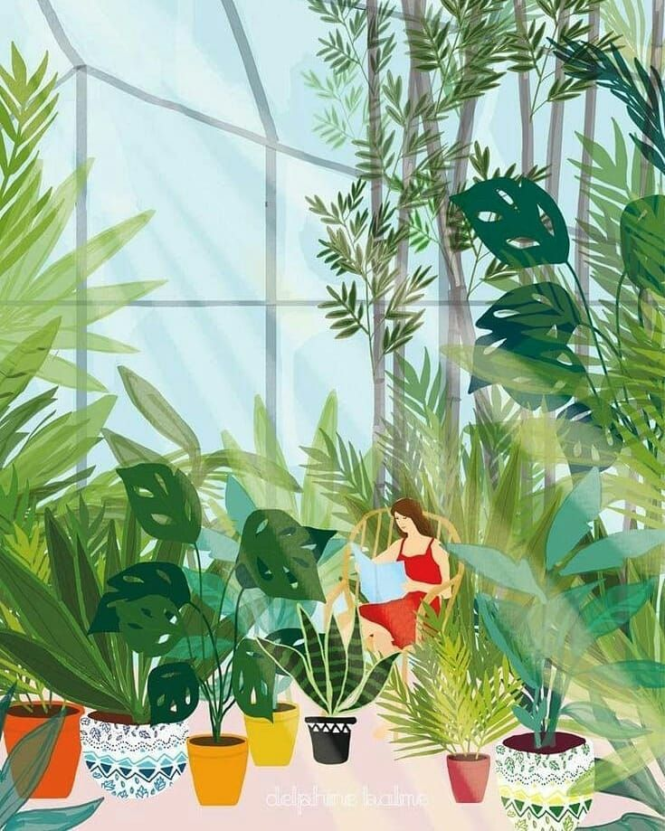 The World Of Illustration On Instagram Rue Des Souvenirs Save And Your Friends Who You T In 2020 Plant Illustration Watercolor Illustration Garden Illustration