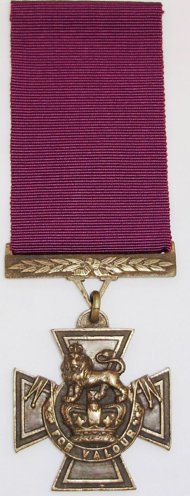 The Victoria Cross...On this day 29th January 1856 Queen Victoria instituted Britain's highest military decoration, the Victoria Cross, (VC) The medal is awarded to British and commonwealth armed forces for outstanding bravery on the field of battle. The medal was originally made from the metal of cannon captured from the Russians at Sevastopol until the supply came to an end in 1942