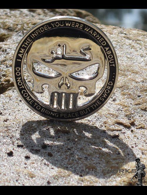 Infidel Challenge Coin - Gruntworks11b