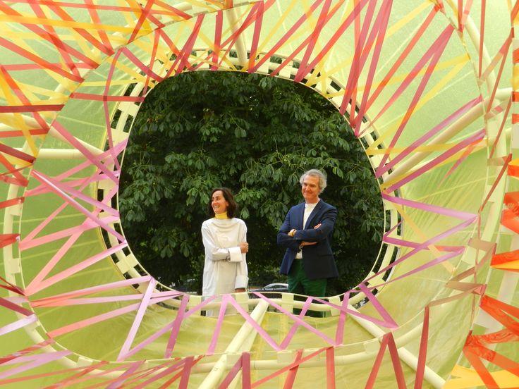 Se inaugura el pabellón Serpentine Gallery 2015 diseñado por SelgasCano