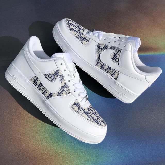 Dior Air force 1 (leather) | Nike shoes air force, Air force one ...
